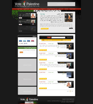 Vote 4 Palestine website