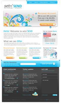 setn'Send Website
