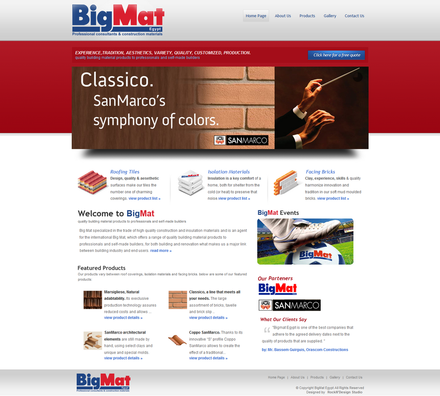 BigMat website by safialex83