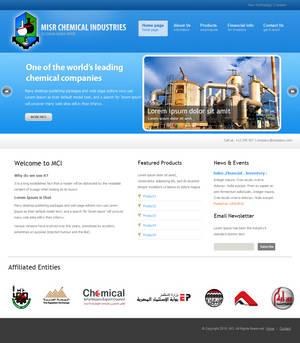 MCI Website Design