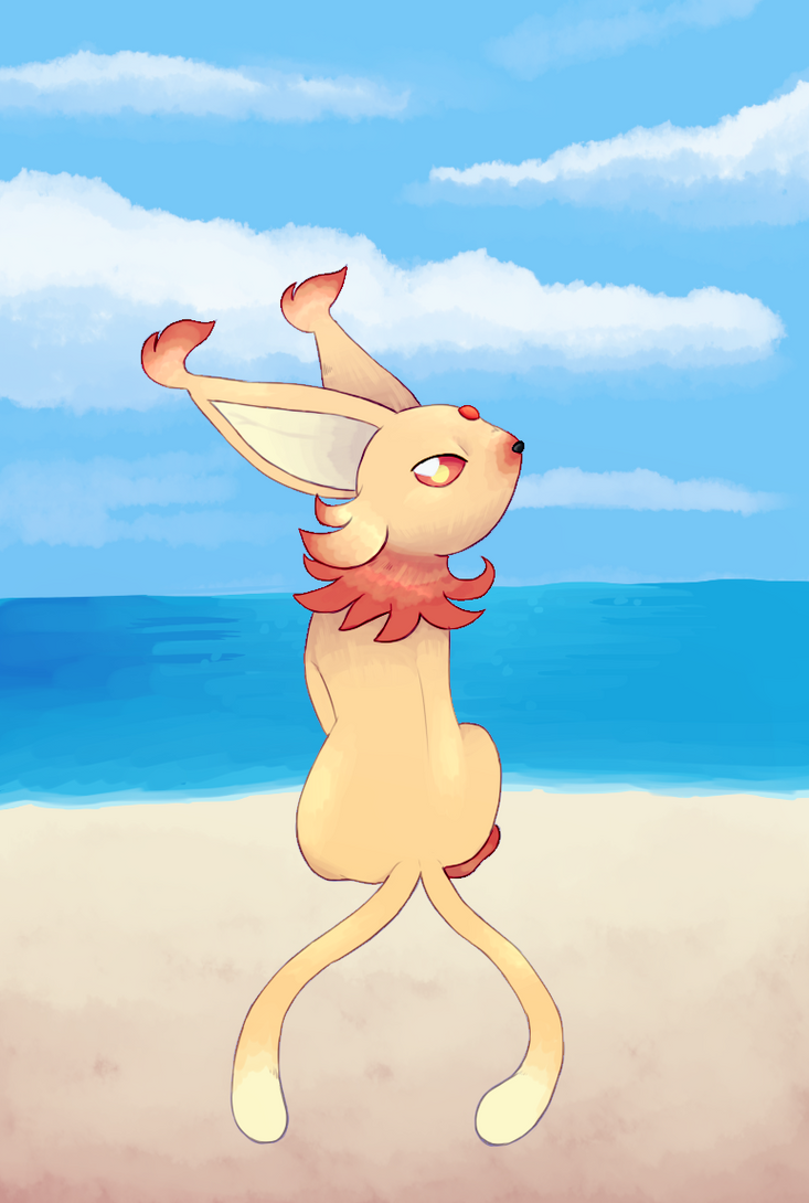 [COMMISSION] ALOLAN ESPEON by EvilSonic2