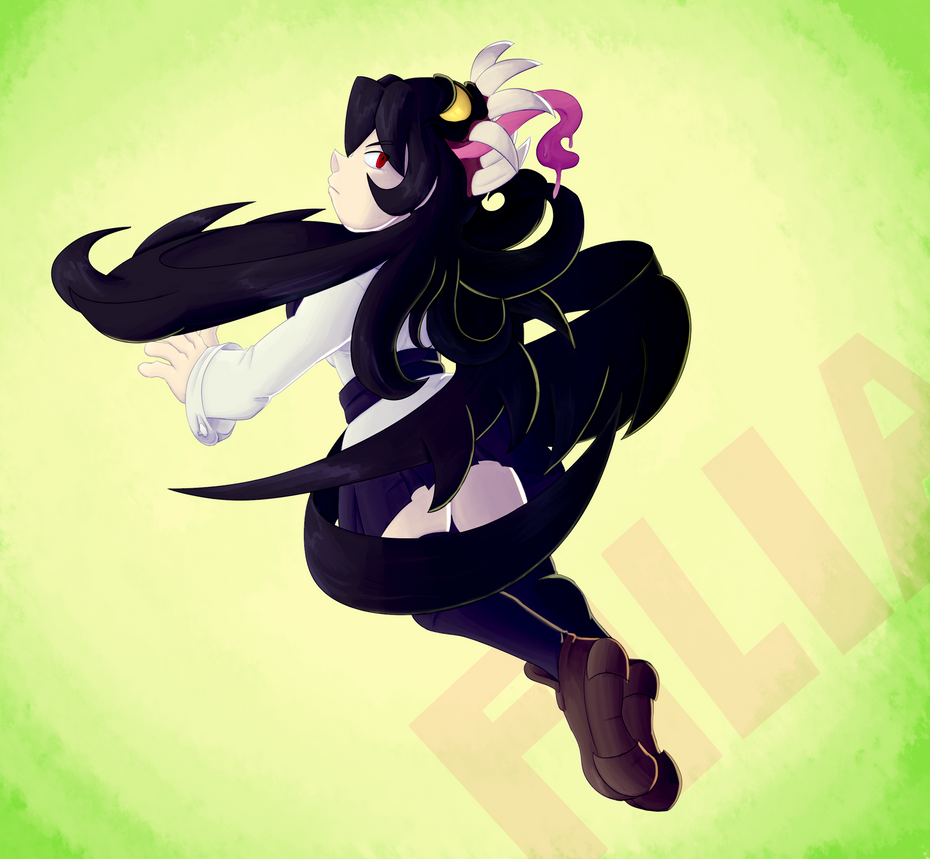 [COMMISSION] FILIA by EvilSonic2