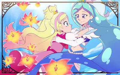 CURE FLORA AND CURE MERMAID