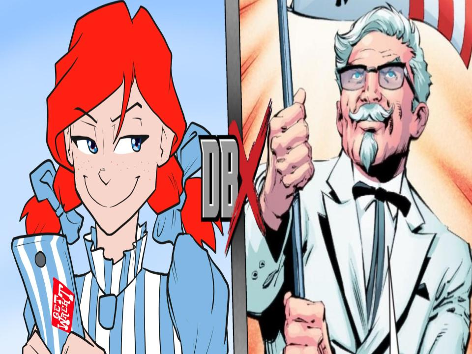Image result for colonel sanders wendy's