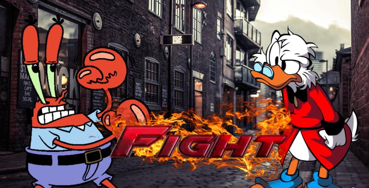 Death Battle: Scrooge McDuck vs Mr  Krabs by Br3ndan5 on DeviantArt