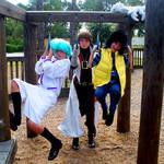 July: Playground Fun by stinkulousreddous