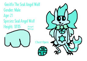 Gositfo The Seal Angel Wolf