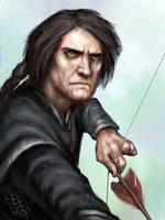 Qhorin Halfhand by BrittMartin