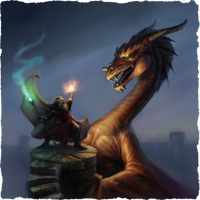 Wizard defense - Box Cover by BrittMartin