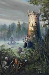 Anhedonia Tower by BrittMartin