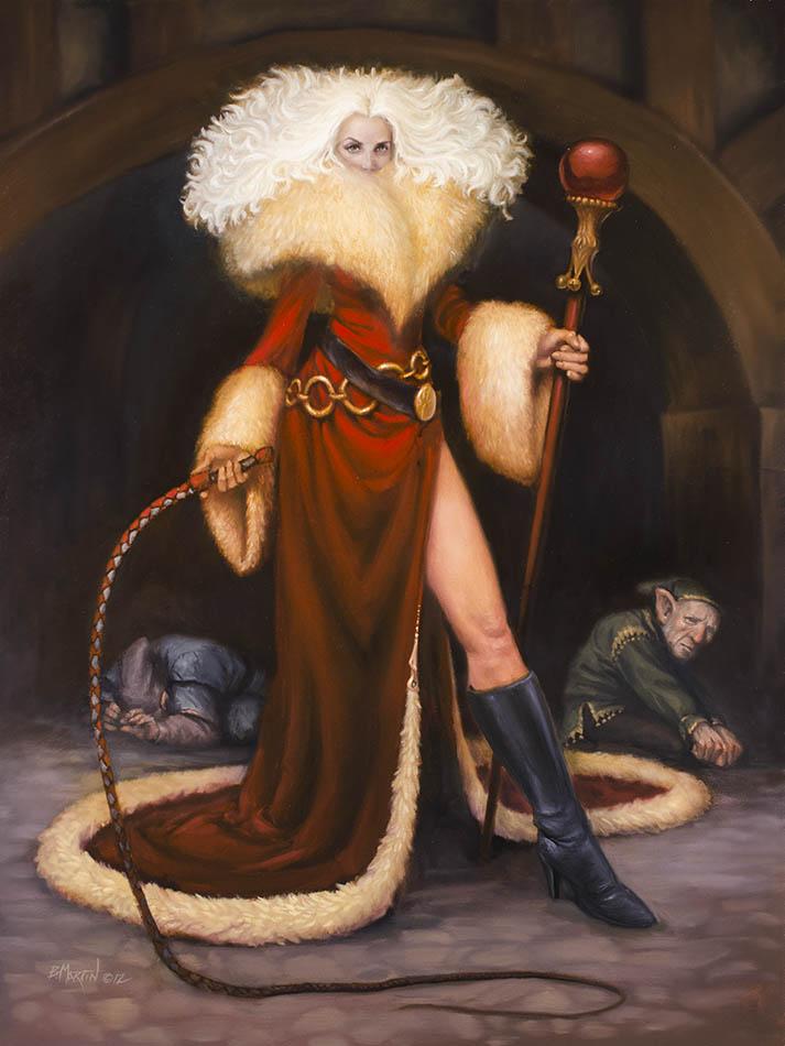 Mistress Klaus - Xmas Card 2012 by BrittMartin