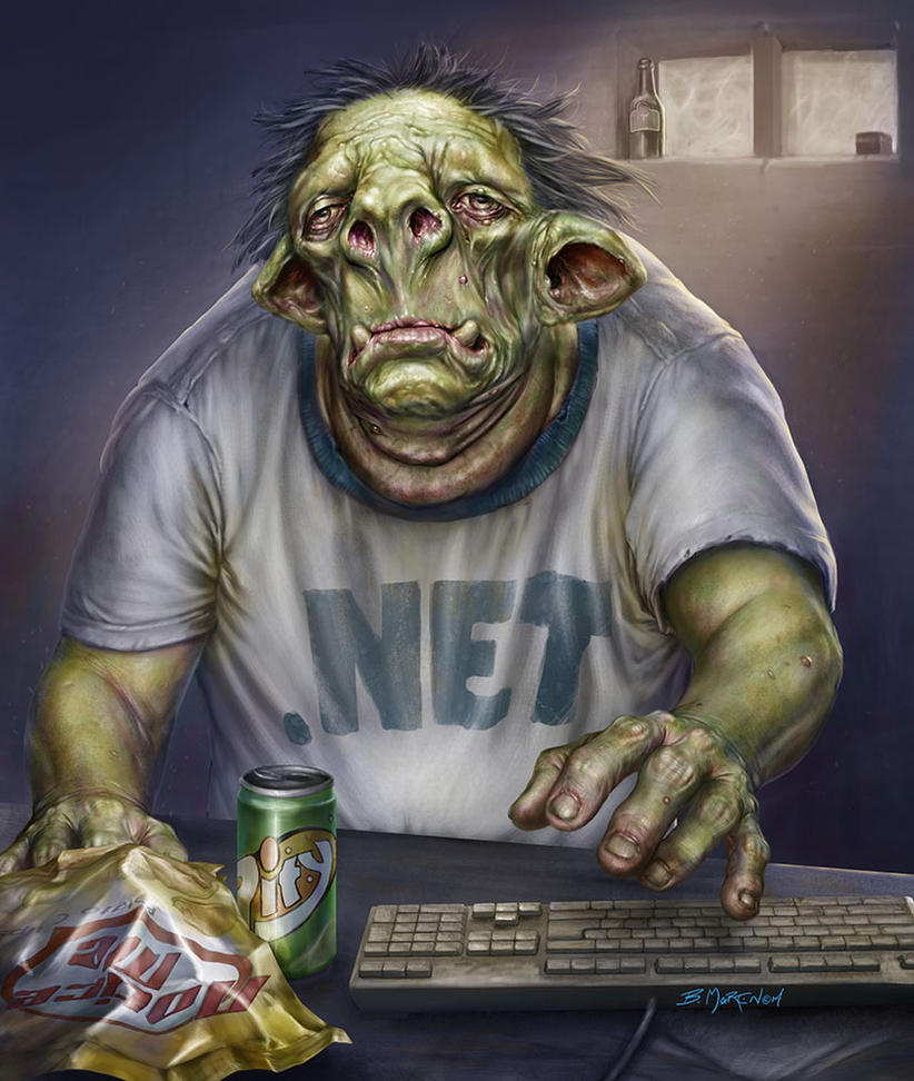 Internet Troll by BrittMartin