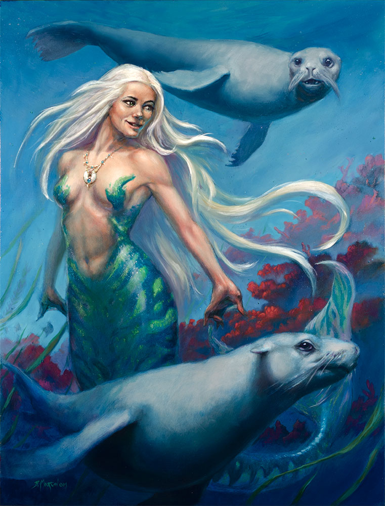 Mermaid by BrittMartin