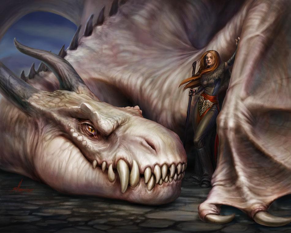Dragon-Lady by BrittMartin