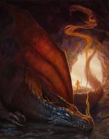 Cave Dragon by BrittMartin