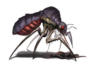 Mosquito-monster