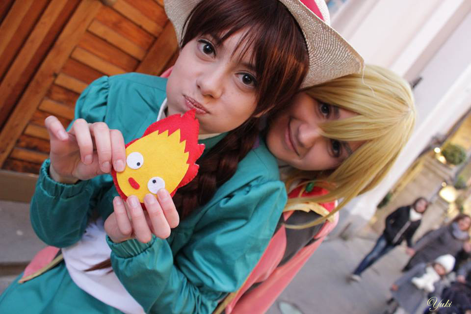 Howl Sophie Howl's Moving Castle Cosplay by OwiCosplay