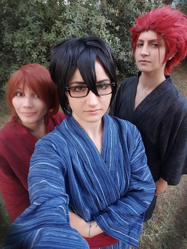 Young! Saruhiko Fushimi K project Cosplay by OwiCosplay