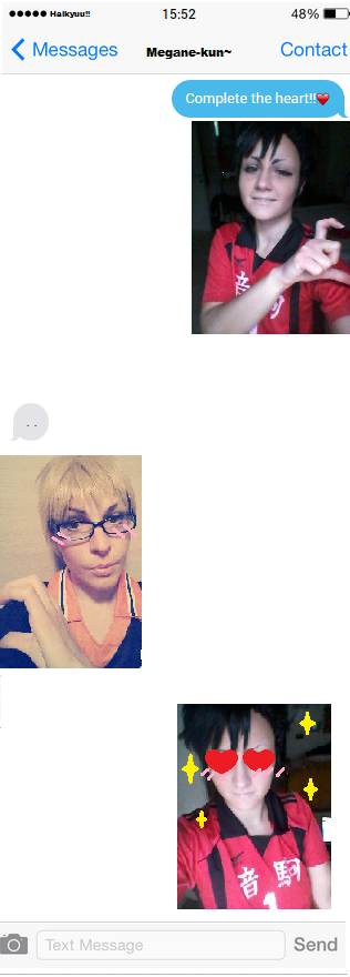 Complete the heart KurooTsukki HQ by OwiCosplay
