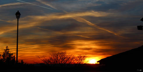 sunset by Dontpass