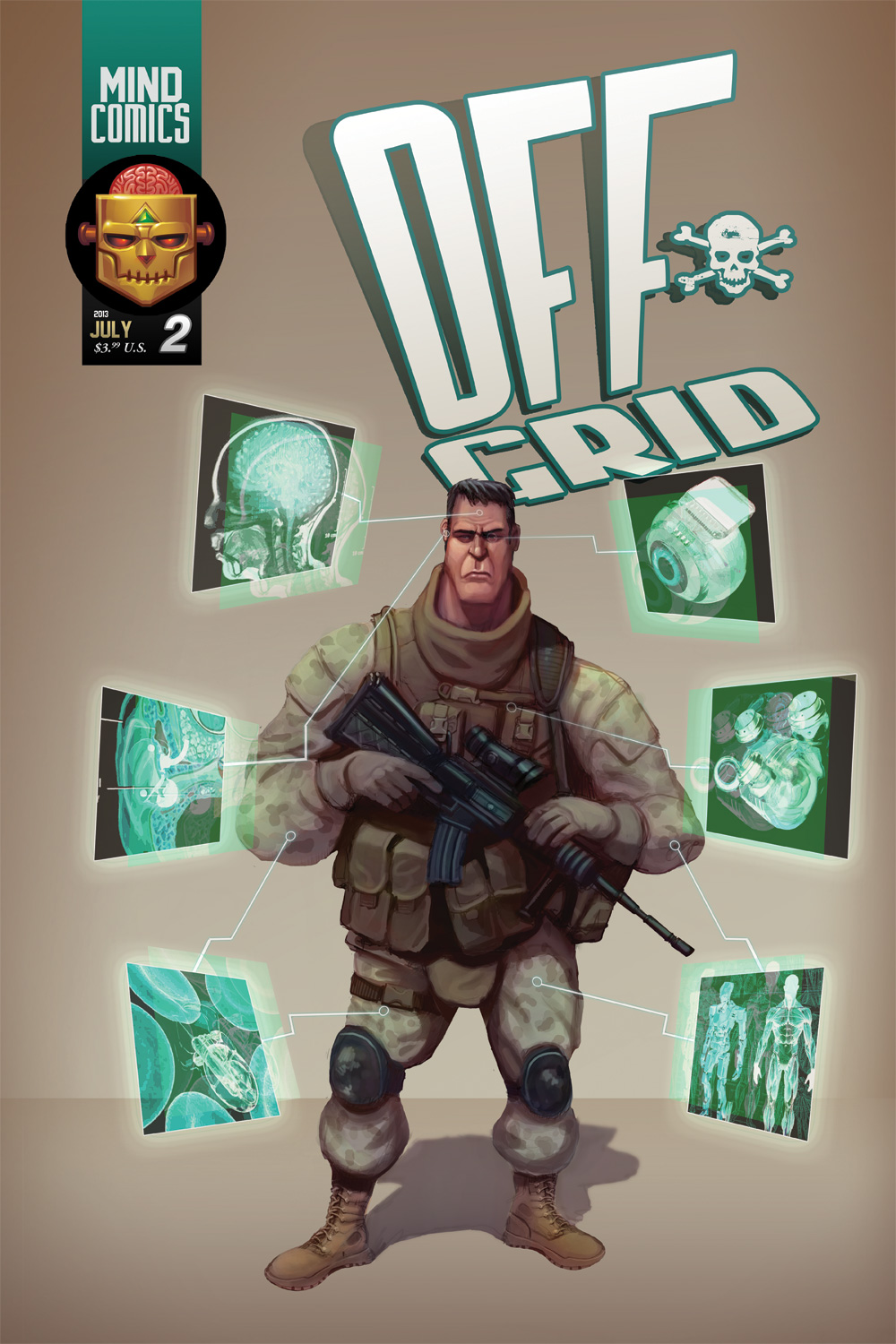 Off-Grid - Issue 02: Cover by plaidklaus