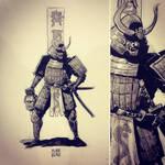 Samurai by plaidklaus