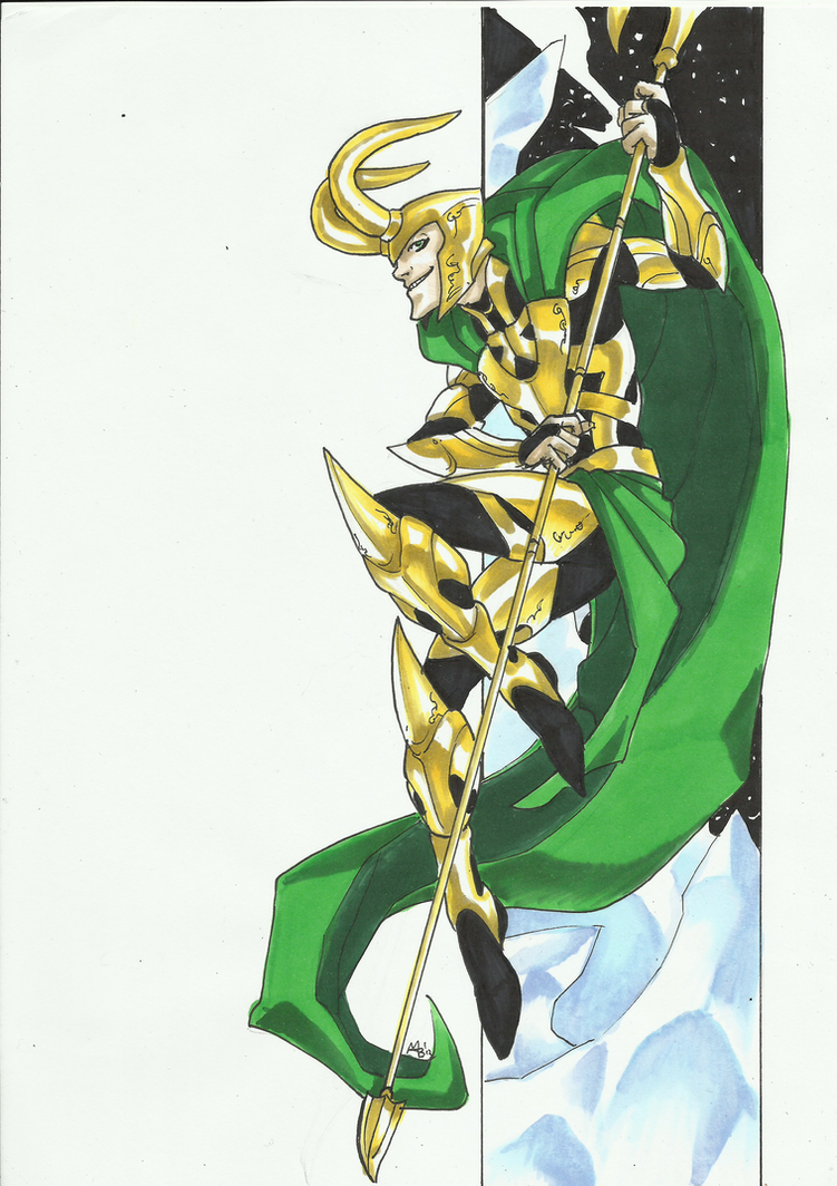 Marvel Villains Speed Paint Week 006 Loki By Mad Project On Deviantart