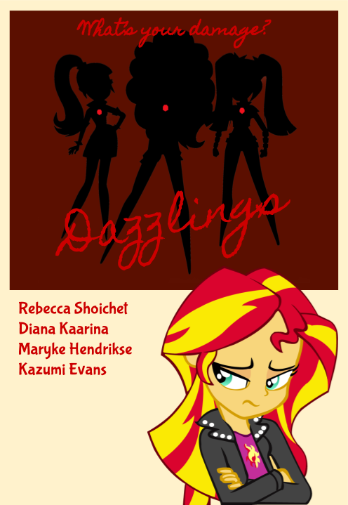 Dazzlings Equestria Girls Heathers By Segasister On Deviantart