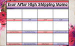 Ever After High Shipping Meme (BLANK)