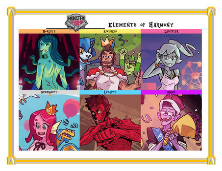 Monster Prom Elements of Harmony
