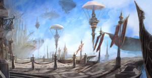 sky port by puyoakira