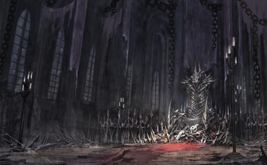 Lichking's Throne by puyoakira