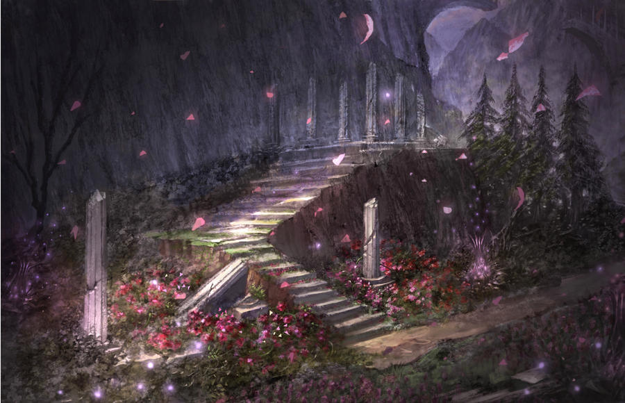 cursing garden by puyoakira