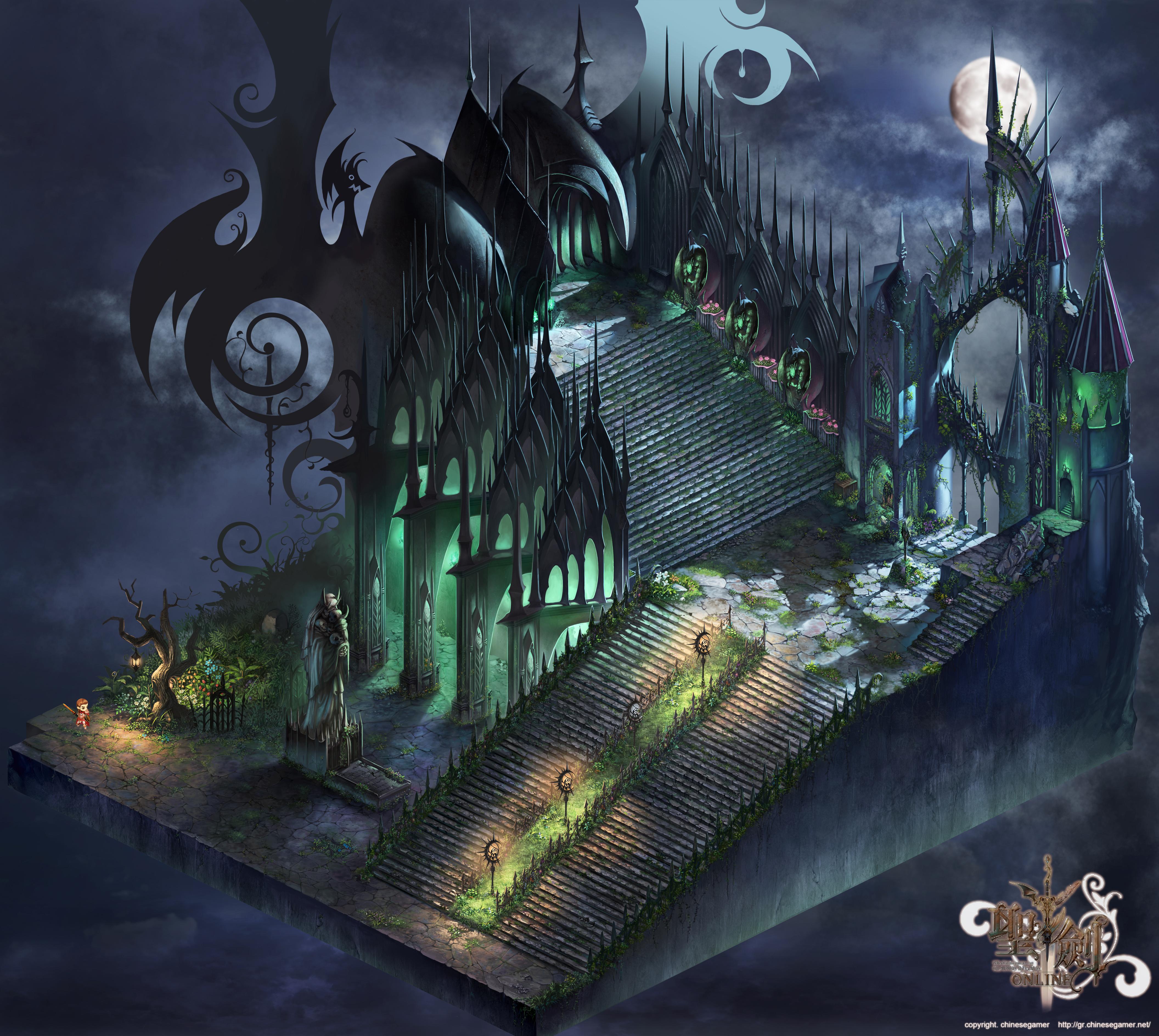 Dracula's Stair Full map by puyoakira