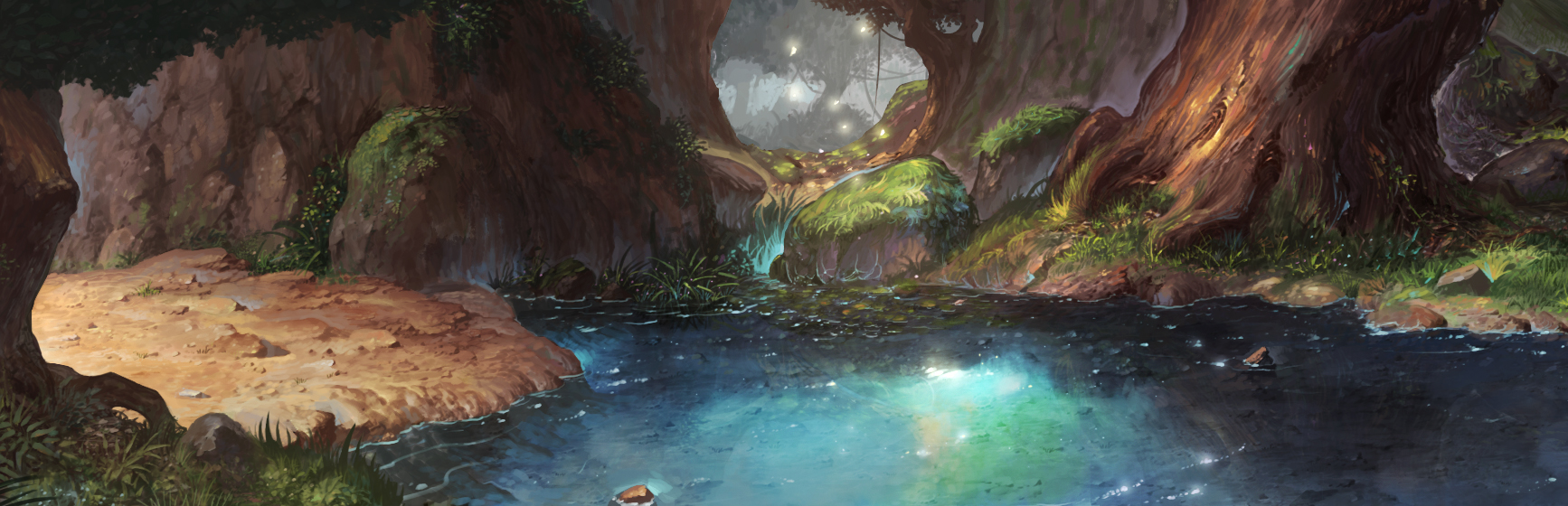 Inside the forest by puyoakira