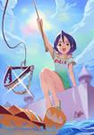 BLEACH -----'RUKIA' and 'KON' by puyoakira