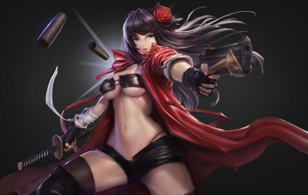 Killer Girl by puyoakira