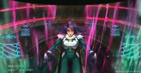 Gundam UC ep4.Loni Garvey by puyoakira