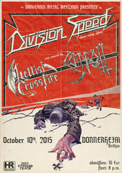 Division Speed Album release concert flyer