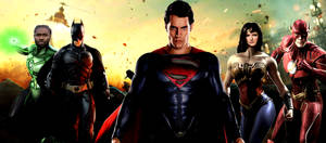 Justice League Movie Banner - The Big 5