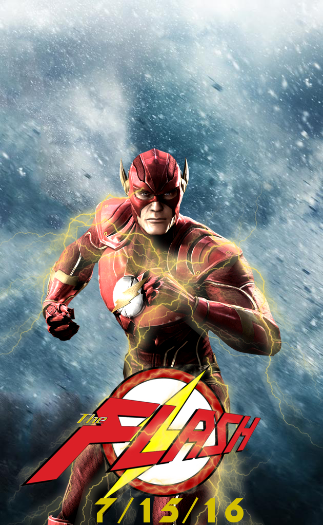 Movie Posters 2016 The Flash Movie Poster by