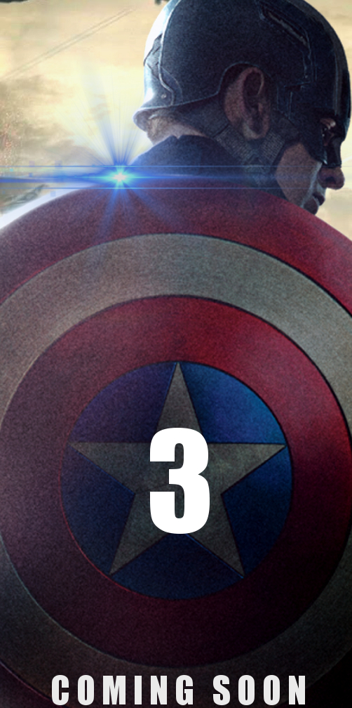 Captain America 3 Teaser Poster by PaulRom