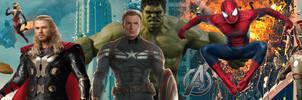 Avengers Lineup Banner