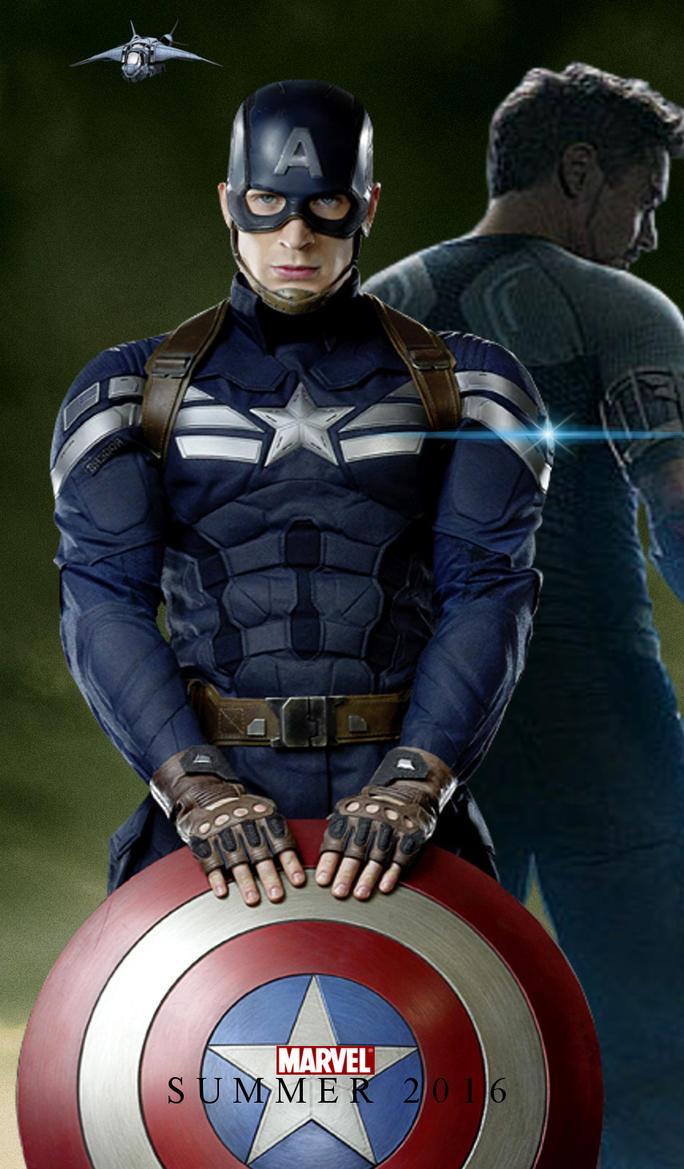 Captain America: Civil War Movie Poster 2 by PaulRom