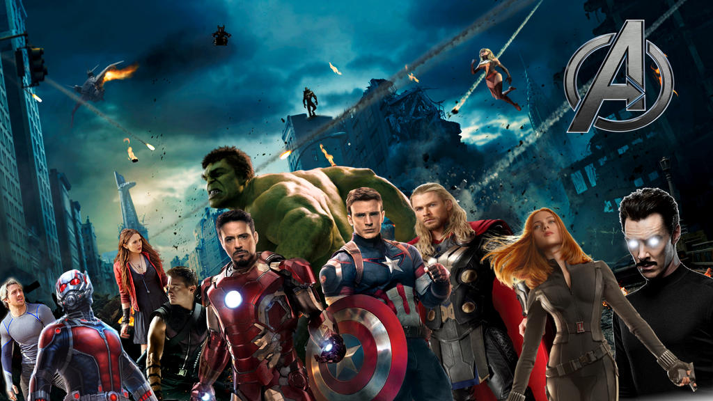 The Avengers - Movie Lineup Phase 3 by PaulRom on DeviantArt