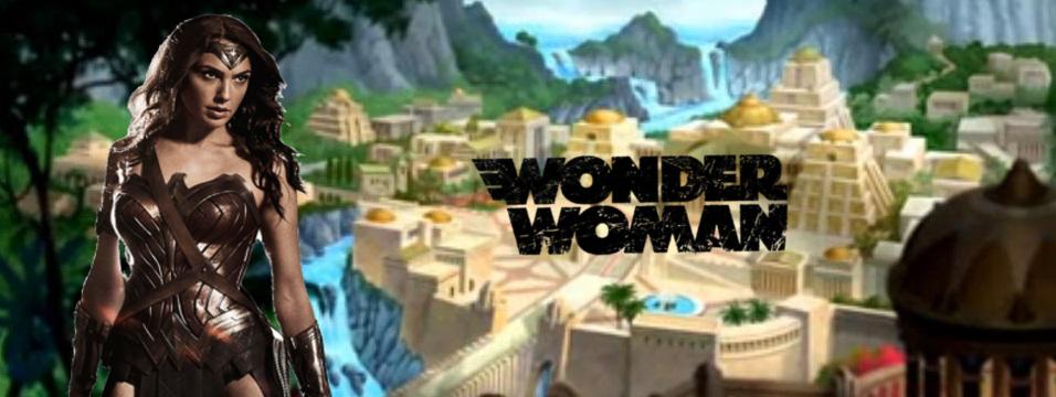 Wonder Woman Movie Banner by PaulRom