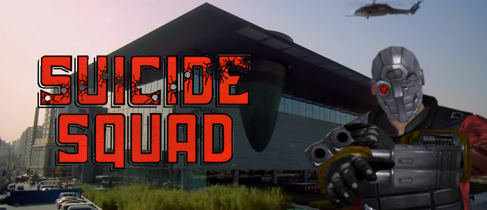 Suicide Squad Movie Banner by PaulRom