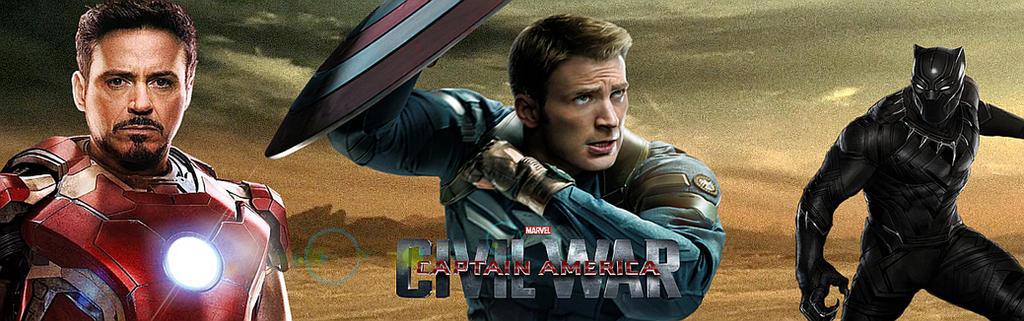 Captain America: Civil War Banner 2 by PaulRom
