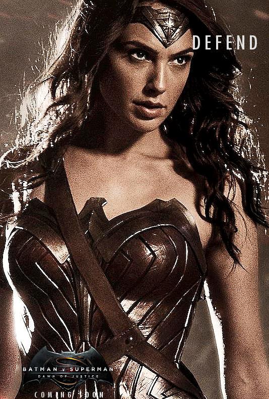 Batman v Superman Character Poster3 - Wonder Woman by PaulRom
