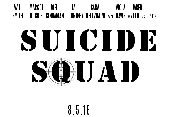 Suicide Squad Movie Logo by PaulRom
